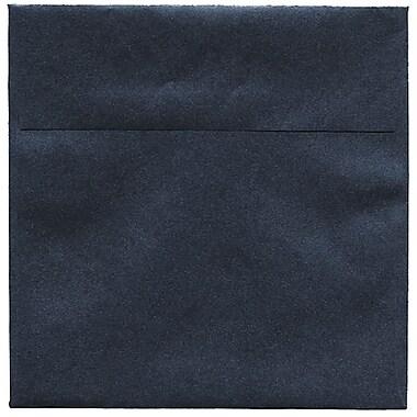 JAM Paper® 6.5 x 6.5 Square Envelopes, Stardream Metallic Anthracite Black, 250/Pack (GCST506H)