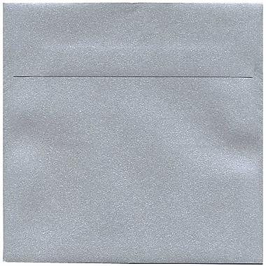 JAM Paper – Enveloppes Stardream à fini métallisé, 6,5 x 6,5 po, argenté, 250/paquet