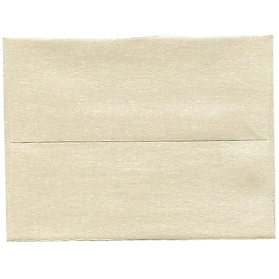 JAM Paper® A2 Invitation Envelopes, 4 3/8 x 5 3/4, Stardream Metallic Opal, 50/pack (GCST600I)