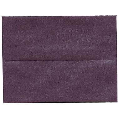 JAM PaperMD – Enveloppe Stardream A2 à effet métallisé, rubis, 250/paquet