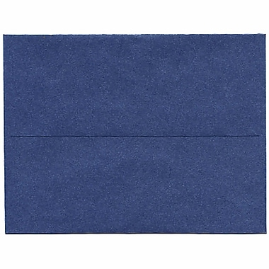 JAM Paper® A2 Invitation Envelopes, 4.38 x 5.75, Stardream Metallic Sapphire Blue, 250/Pack (GCST605H)