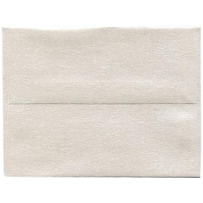 JAM Paper® A2 Invitation Envelopes, 4 3/8 x 5 3/4, Stardream Metallic Quartz, 50/pack (GCST607I)