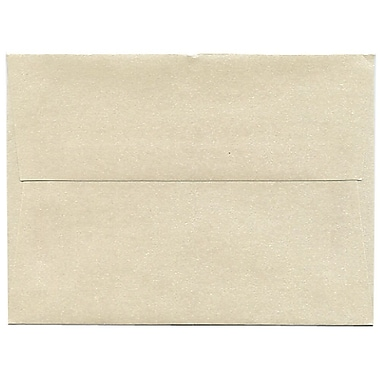 JAM Paper® A6 Invitation Envelopes, 4.75 x 6.5, Stardream Metallic Opal with Copper Duals, 50/pack (GCST650I)