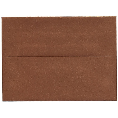 JAM Paper® A6 Invitation Envelopes, 4.75 x 6.5, Stardream Metallic Copper, 50/Pack (GCST651I)