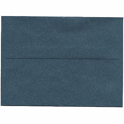 JAM Paper® A6 Invitation Envelopes, 4.75 x 6.5, Stardream Metallic Malachite Green, 50/pack (GCST653I)