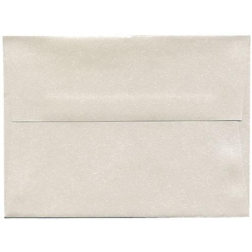 JAM Paper® A6 Invitation Envelopes, 4.75 x 6.5, Stardream Metallic Quartz, 250/box (GCST657H)
