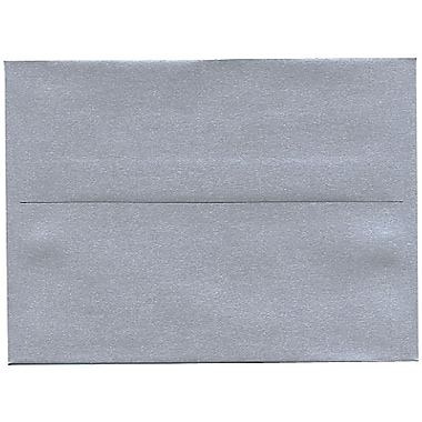 JAM Paper® A6 Invitation Envelopes, 4.75 x 6.5, Stardream Metallic Silver, 50/Pack (GCST659I)