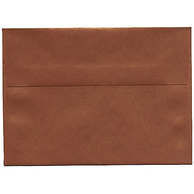 JAM Paper® A7 Invitation Envelopes, 5.25 x 7.25, Stardream Metallic Copper, 50/Pack (GCST701I)