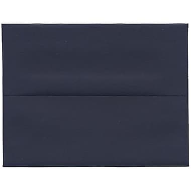 JAM Paper® A2 Invitation Envelopes, 4.38 x 5.75, Navy Blue, 250/Pack (LEBA617H)
