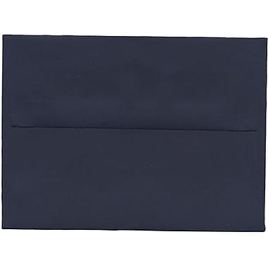 JAM Paper® A6 Invitation Envelopes, 4.75 x 6.5, Navy Blue, 250/Pack (LEBA667H)