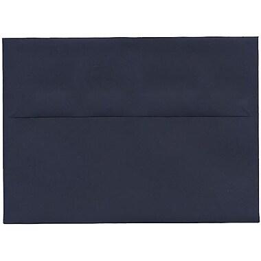 JAM Paper – Enveloppes A7 simples, bleu marine, 250/paquet