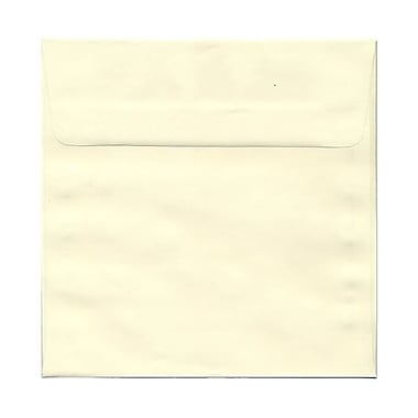 JAM Paper® 8.5 x 8.5 Square Envelopes, Cream Mohawk Opaque, 250/box (MOOP517H)