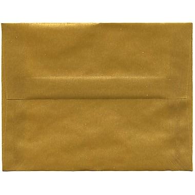 JAM Paper – Enveloppes translucides A2, or, 250/paquet