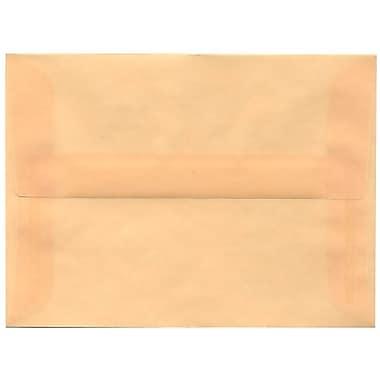 JAM Paper® A6 Invitation Envelopes, 4.75 x 6.5, Spring Ochre Ivory Translucent Vellum, 250/box (PACV650H)