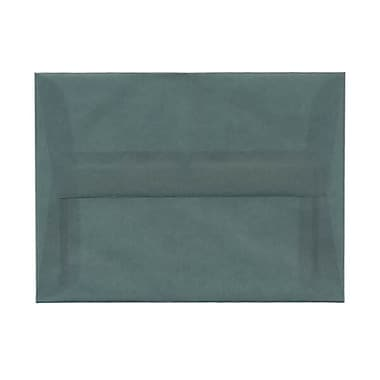 JAM Paper® A6 Invitation Envelopes, 4.75 x 6.5, Ocean Blue Translucent Vellum, 250/Pack (PACV652H)
