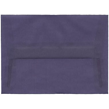 JAM Paper® A6 Invitation Envelopes, 4.75 x 6.5, Wisteria Purple Translucent Vellum, 250/Pack (PACV654H)