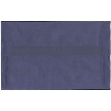 JAM Paper – Enveloppes translucides A10, violet glycine, 50/pqt