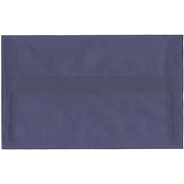 JAM Paper® A10 Invitation Envelopes, 6 x 9.5, Translucent Vellum Wisteria Purple, 50/Pack (PACV854I)