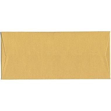 JAM Paper® #10 Business Envelopes, 4 1/8 x 9.5, Stardream Metallic Gold, 500/Pack (SD5360 07H)