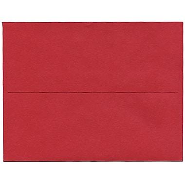 JAM PaperMD – Enveloppes Stardream A2 à effet métallisé, rouge Jupiter, 50/paquet