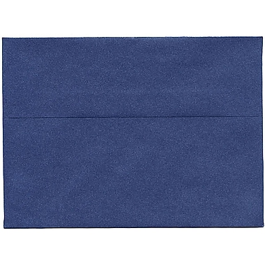 JAM Paper® A7 Invitation Envelopes, 5.25 x 7.25, Stardream Metallic Sapphire Blue, 250/Pack (SD5380 16H)