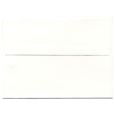 JAM Paper® A6 Invitation Envelopes, 4.75 x 6.5, Strathmore Bright White Laid, 250/Pack (STTL661H)