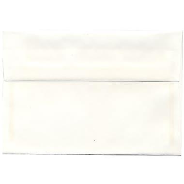 JAM Paper – Enveloppes Strathmore A8, vélin blanc brillant, 250/paquet