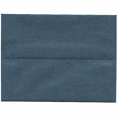 JAM Paper® A2 Invitation Envelopes, 4 3/8 x 5 3/4, Stardream Metallic Malachite Green, 250/box (V018258H)