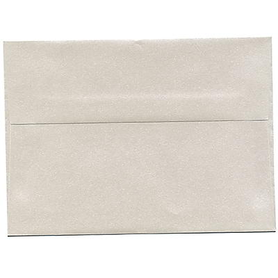 JAM Paper® A7 Invitation Envelopes, 5.25 x 7.25, Stardream Metallic Quartz, 50/pack (V018276I)