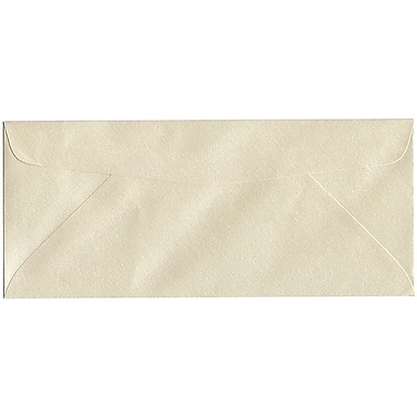 JAM Paper® #10 Business Envelopes, 4 1/8 x 9 1/2, Stardream Metallic Opal, 50/pack (V018287I)