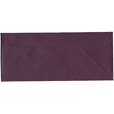 JAM Paper – Enveloppe Stardream nº 10 (4,13 po x 9,5 po) à effet métallisé, rubis, 500/bte
