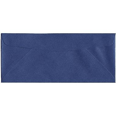 JAM Paper® #10 Business Envelopes, 4 1/8 x 9.5, Stardream Metallic Sapphire Blue, 500/Pack (V018289H)