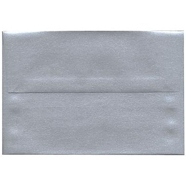 JAM Paper – Enveloppe A8 Stardream, effet métallisé, argenté, 250/paquet