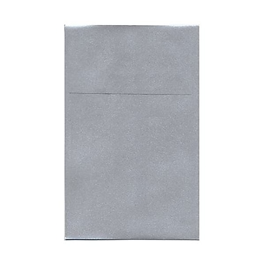 JAM Paper® A10 Policy Envelopes, 6 x 9.5, Stardream Metallic Silver, 50/Pack (V018303I)