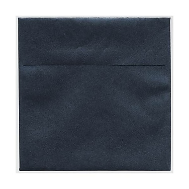 JAM Paper® 6 x 6 Square Envelopes, Stardream Metallic Anthracite Black, 250/Pack (V018309H)