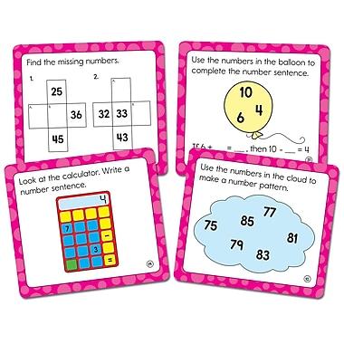 Carson-Dellosa Math Challenge Cards, 36/Pack