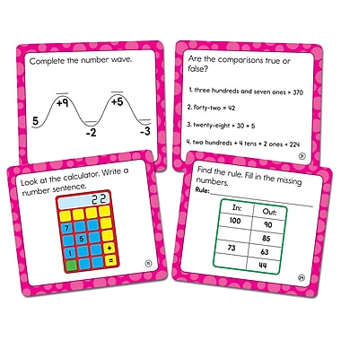 Carson-Dellosa Math Challenge Curriculum Cut-Outs Grade 2, 36/Pack