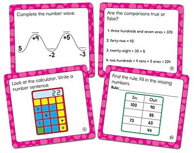 Carson-Dellosa Math Challenge Curriculum Cut-Outs Grade 2, 36/Pack