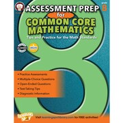 Mark Twain Assessment Prep for Common Core Mathematics Resource Book for Grade 8