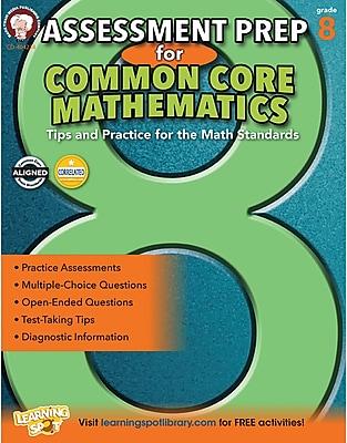 Mark Twain Assessment Prep for Common Core Mathematics Resource Book for Grade 8