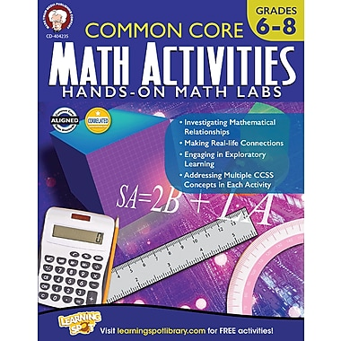 Carson-Dellosa Mark Twain Common Core Math Activities Resource Book (404235)