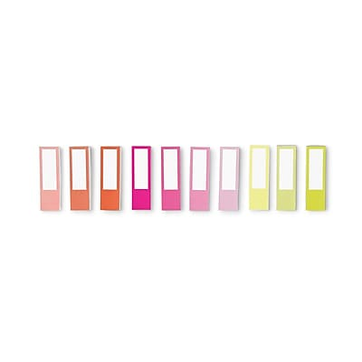 russell+hazel Multicolor Page Tabs, Set of 10