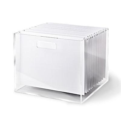 russell+hazel Acrylic File Box