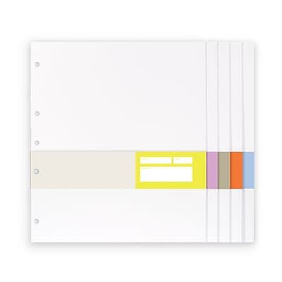 russell+hazel Signature White Paper Pockets, 11