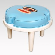 Najarian Furniture Paul Frank Ottomans; Blue