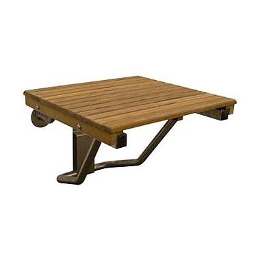 Teakworks4u Shower Seat; 14'' H x 30'' W x 16'' D