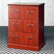 High Point Furniture Bedford 3-Drawer  File; Mahogany