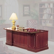 High Point Furniture Bedford Double Pedestal Executive Desk