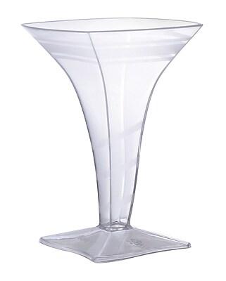 Fineline Settings, Inc Tiny Temptations 2 Oz. Square Martini Glass (Set of 96)