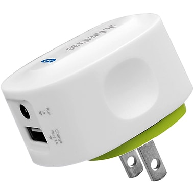 Avantree – Récepteur audio Bluetooth avec chargeur USB Roxa, blanc/vert (BTRC-300)